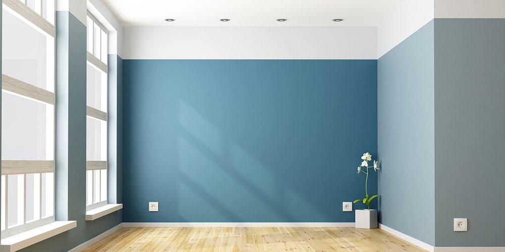 Child-Friendly Interior Painting Blue with White Trim - Cumming, GA - Kimberly Painting