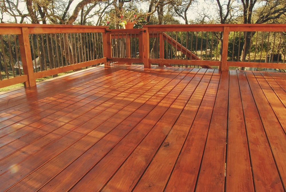 Deck Sealing, Staining, and Repair - Cumming, GA - Kimberly Painting