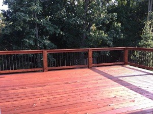 Deck Stain Color - Cumming, GA | Kimberly Painting