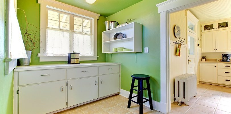 Steps to Professional Interior Painting - Bold Colors - Lime Green - Kimberly Painting Cumming Georgia