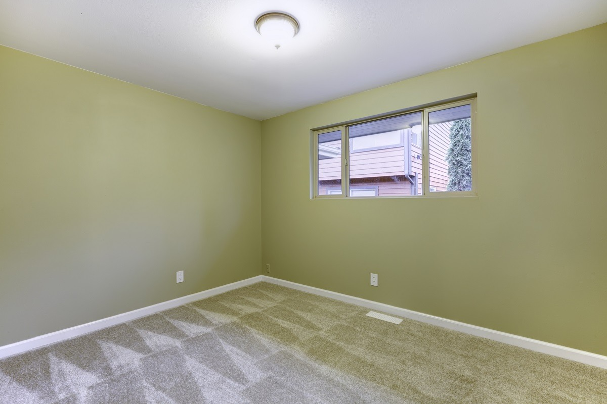 Bedroom painting - green and white paint colors - Kimberly Painting Contractors of Cumming Georgia