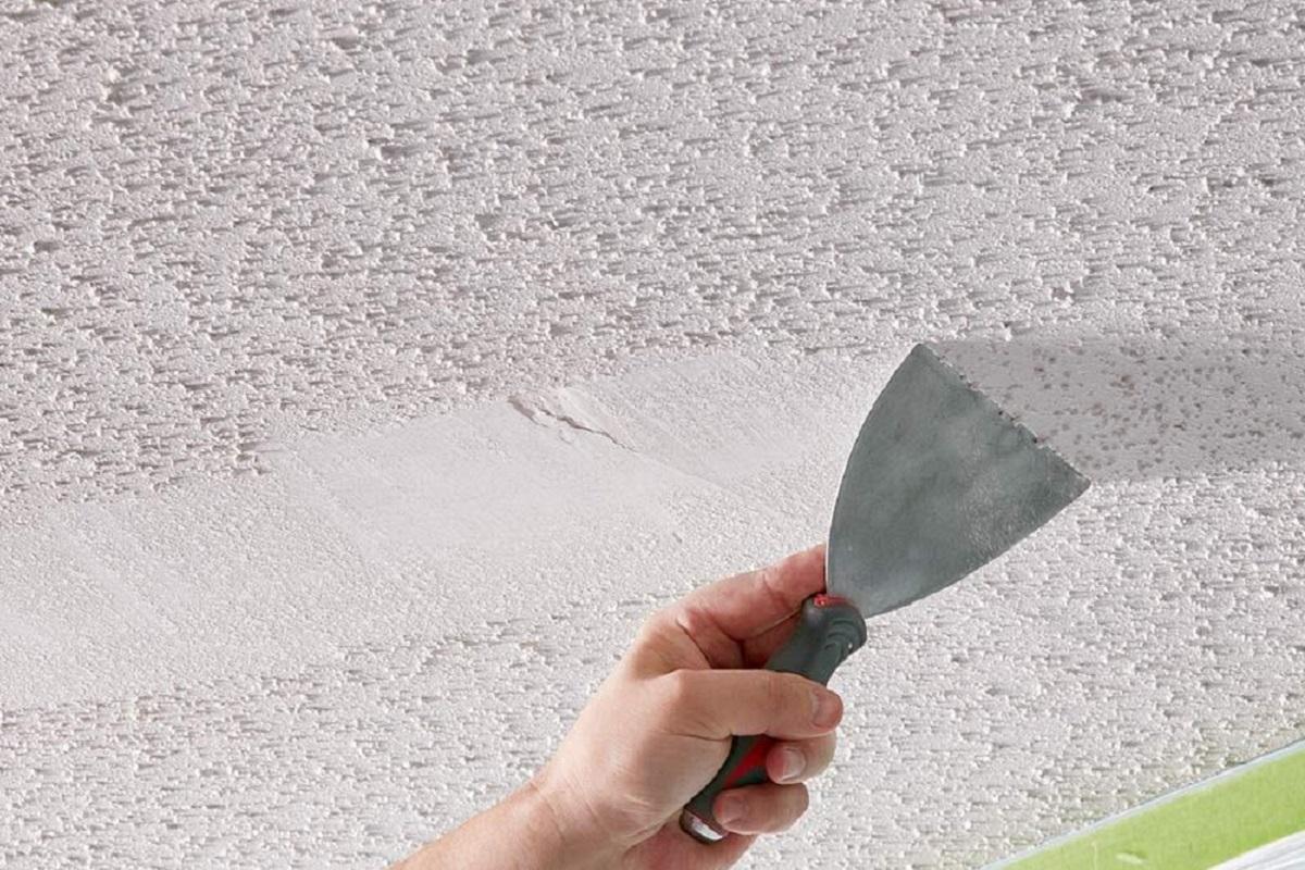 Popcorn Ceiling Removal - Cumming, Georgia - Kimberly Painting 1200x800