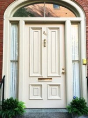 Neutral Front Door Paint Color - Exterior Painting Contractors - Cumming GA - Kimberly Painting 300x400