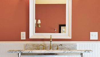 Bathroom-Painting-Colors-SW-Cavern-Clay-Kimberly Painting - Canton, GA