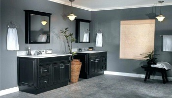 Gray Bathroom Ideas - Interior Painting Cumming GA - Kimberly Painting 350x200