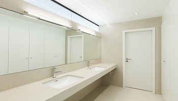 White Beige Neutral Bathroom Color Ideas - Cumming GA - Kimberly Interior Painting